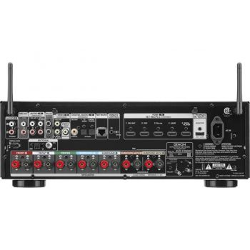 DENON Equipo AV AVR-X1600H + Bose AM-10V White Conjunto Home Cinema