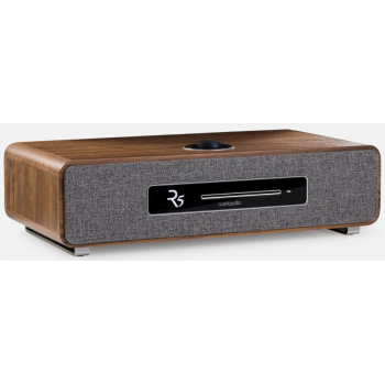 Ruark R5 Walnut Radio CD Fm Dab Bluetooth Wifi
