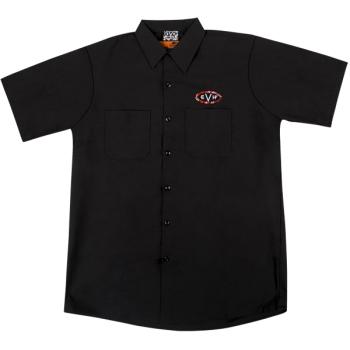 EVH Camisa Woven Black Talla L