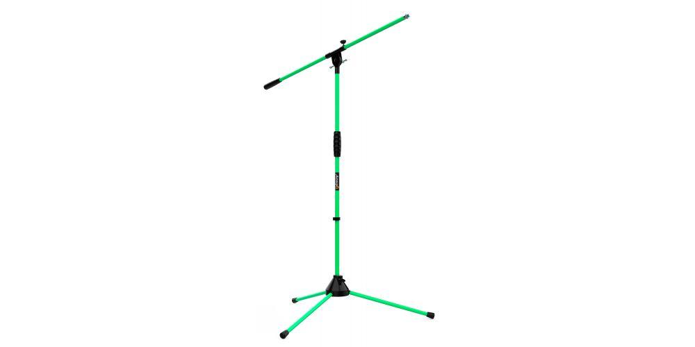 audibax ayra 10 green soporte microfono ajustable profesional