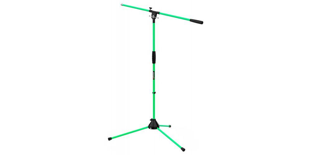 audibax ayra 10 green soporte microfono jirafa