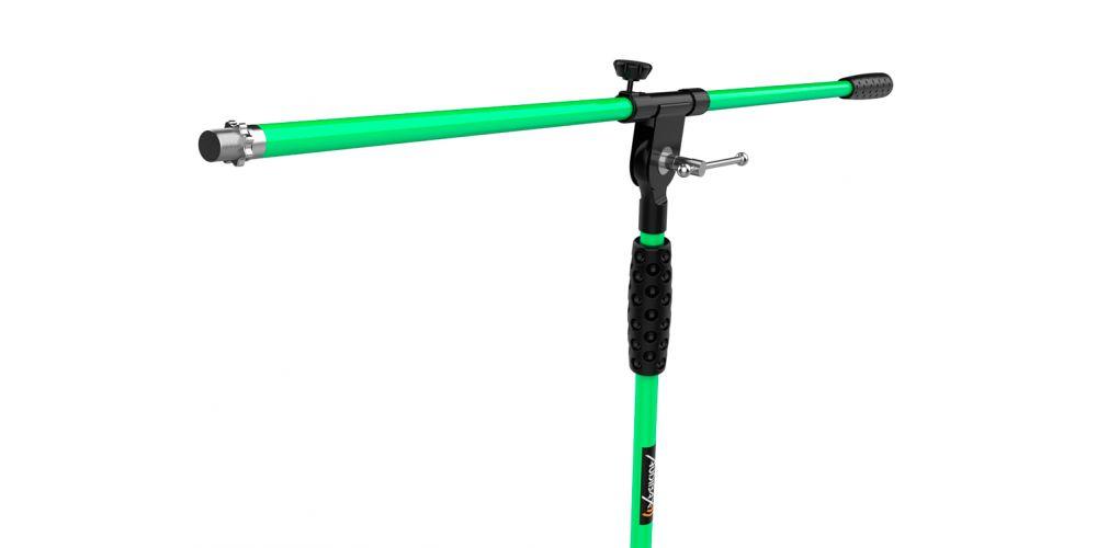 audibax ayra 10 green soporte microfono promocion