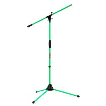 Audibax Ayra 10 Green Soporte Micrófono Suelo Jirafa Ajustable