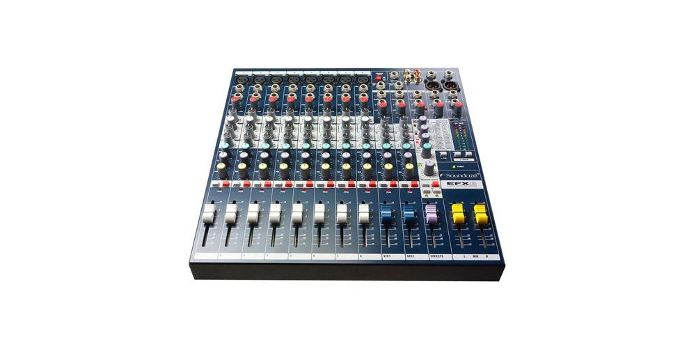soundcraft 8 canales directo EFX 8