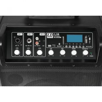 LD SYSTEMS RJ10 Altavoz Portatil Amplificado