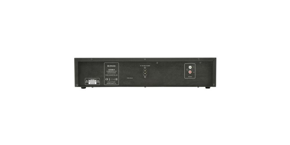 CITRONIC CDUSB-2 Reproductor de CD/SD/USB 170663
