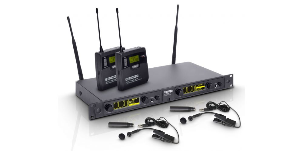 LD SYSTEMS WIN 42 BPW2 Microfono Inalambrico Doble Para Intrumento