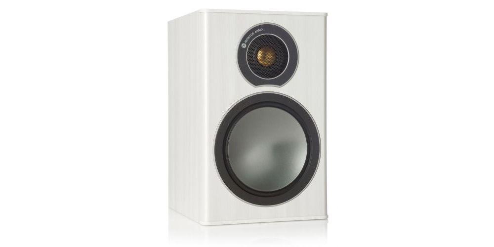 altavoz monitor audio broze 1 white front speakers
