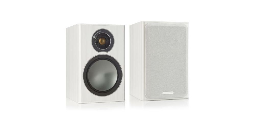 monitor audio broze 1 white par