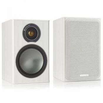 MONITOR AUDIO BRONZE 1 White Ash Pareja