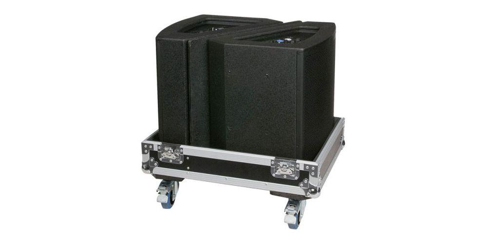 dap audio flightcase 2x monitores escenario 12 d7320 speaker