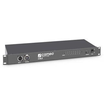 CAMEO SB8.3 Distribuidor DMX de 8 canales (3 pines)