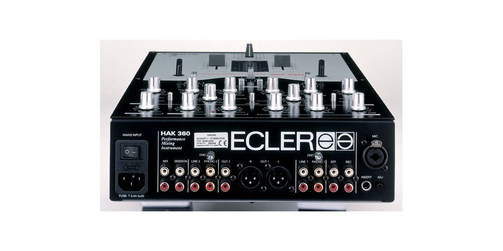 Ecler HAK 360 Mezclador 2 Canales
