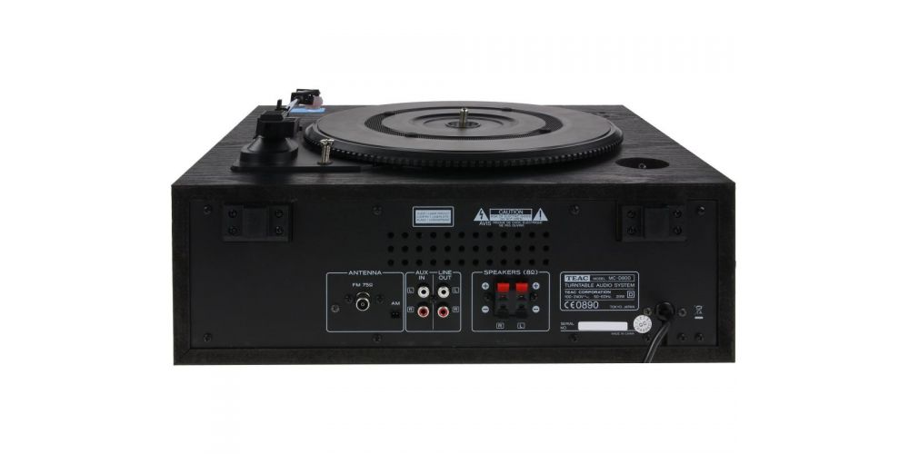 Teac mc d800 blk