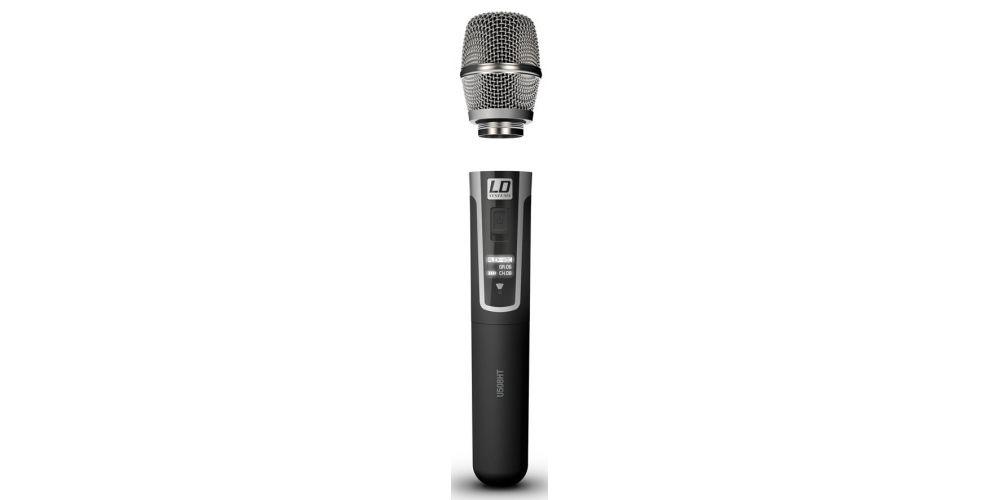 LD SYTEMS U508 HHC Sistema inalámbrico con Micrófono de Mano