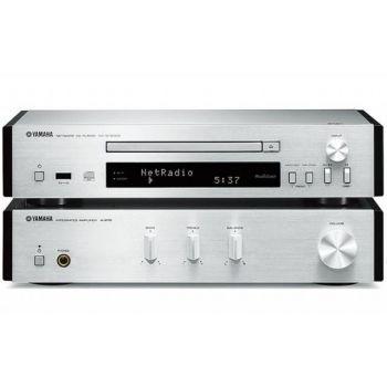 Yamaha MCR-N670 Silver Sin altavoces