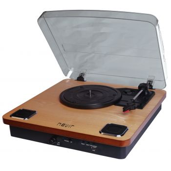 NEVIR 805-VBU Tocadiscos Conversor De Audio,  Bluetooth