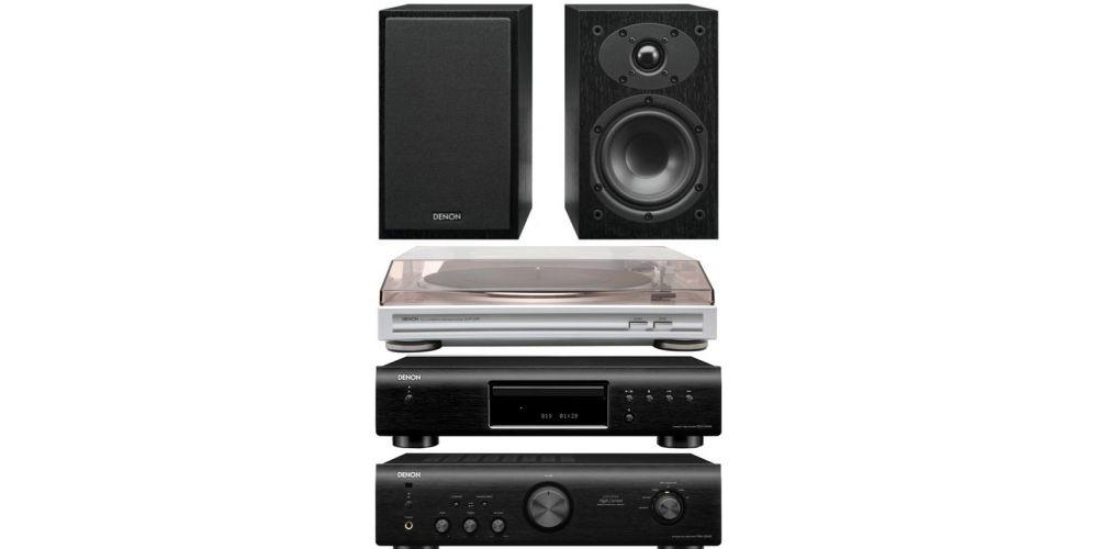 denon pma 520 bk amplificador dp29 scf109 altavoces