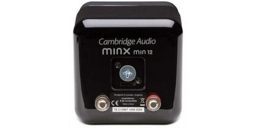 altavoz cambridge audio minx 12 conexiones