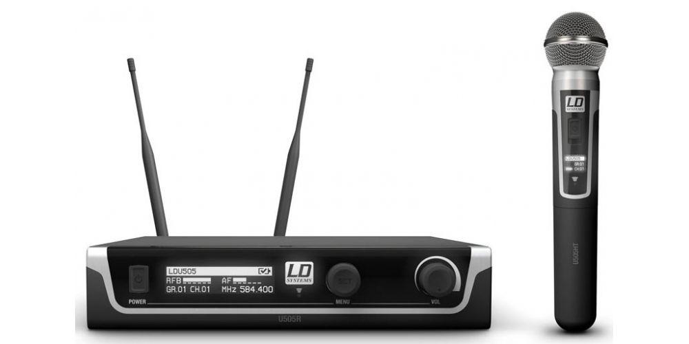 microfono inalambrico ldsystems U505HHD