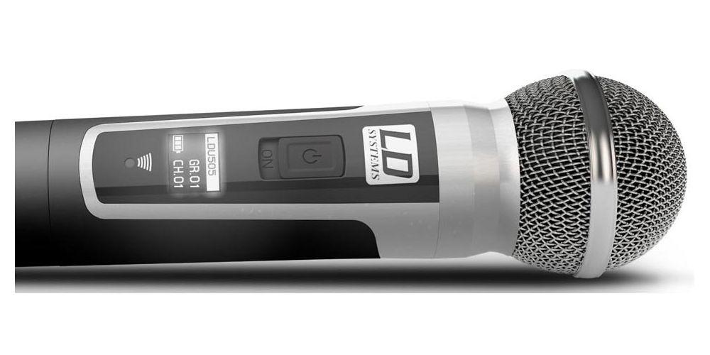 oferta microfono inalambrico ldsystems U505HHD