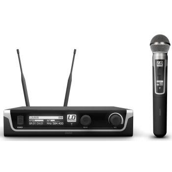 LD SYTEMS U505 HHD Sistema inalámbrico Con Micrófono de Mano