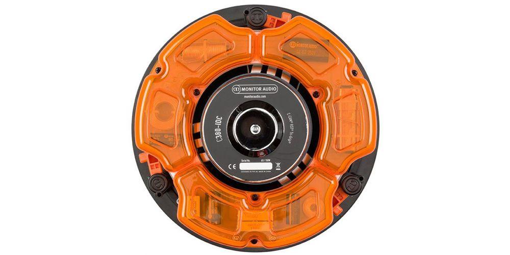 monitor audio c380 idc altavoz de empotrar unidad altavoz conexion