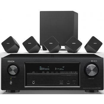DENON AVR-X1400H + SYS2020 Conjunto Altavoces Home Cinema