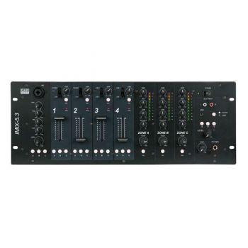 DAP Audio IMIX-5.3 Mezclador DJ de Instalación de 3 Zonas