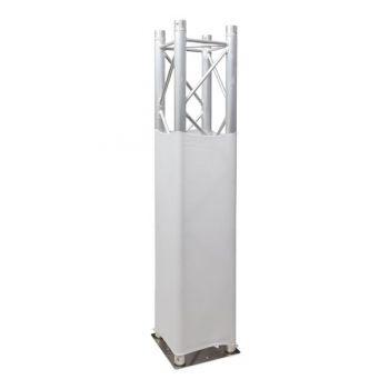 Showtec Truss Stretch Cover White Revestimiento de Tela Blanca para Truss 89221