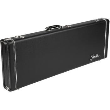 Fender G&G Deluxe Strat®/Tele® Hardshell estuche negro y naranja