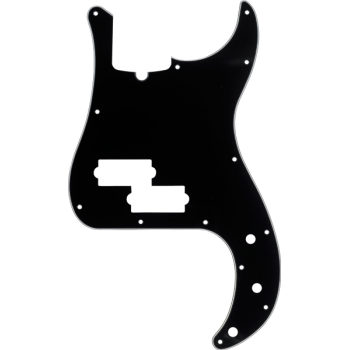 Fender Golpeador Precision Bass 13 agujeros de montaje con muesca
