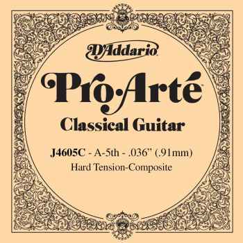 D´addario J4605C Cuerda Suelta para Guitarra Clásica