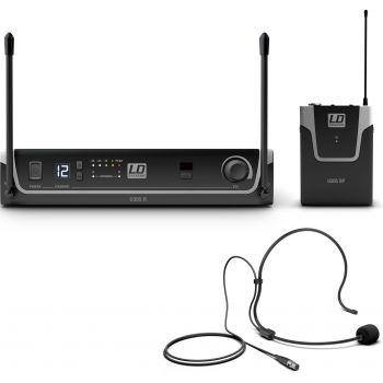 LD Systems U305 BPH Sistema inalámbrico con petaca y micrófono de diadema