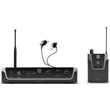 LD SYSTEMS U304.7 IEM HP Sistema de Monitoraje inalámbrico In-Ear
