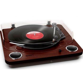 Ion Audio Max LP Dark Wood Giradiscos Vintage