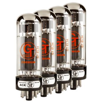 Groove Tubes GT-EL34-R Quartet Válvulas para Etapa