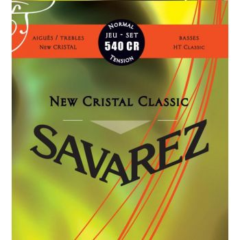 Savarez 540CR New Cristal Classic Cuerdas para Guitarra Clásica de Concierto