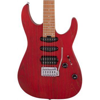 Charvel Pro-Mod DK24 HSS 2PT MN Red Ash Guitarra Eléctrica