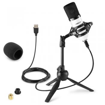 VONYX CM300W Micrófono de Estudio USB Blanco 173510