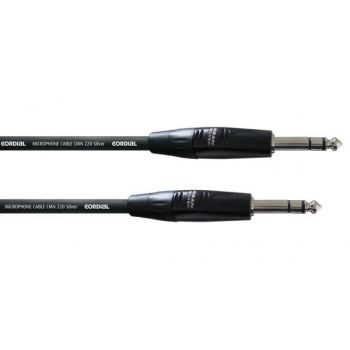 Cordial CIM 1,5 VV Cable Jack a Jack Stereo 1,5 Metros