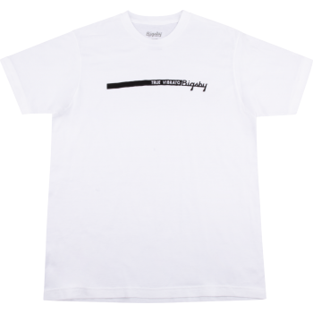 Bigsby True Vibrato Stripe T-Shirt White Talla L