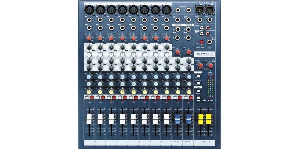 SOUNDCRAFT EPM-8. Mezclador EPM8