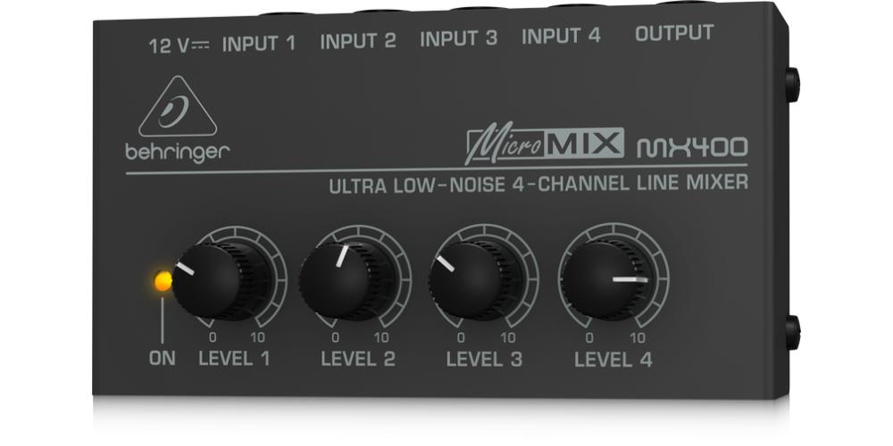 behringer MX400 front