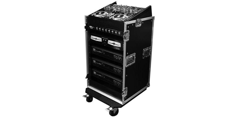 flightcase 19 12 unidades top mesa mezclas VRMIX 12U