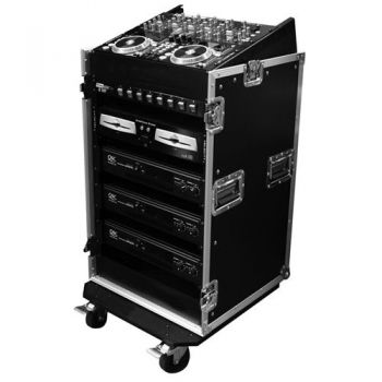 "Walkasse WRM-12U Rack 19"" x 12 Unidades con Top Mixer"