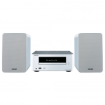 ONKYO CS-245 BT Micro Cadena Bluetooth CD/IPOD/USB, Blanco