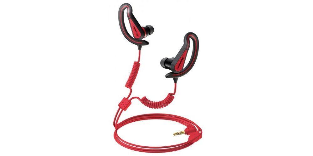 PIONEER SE-E721R Auricular Cerrado SPORT Extremo Rojo