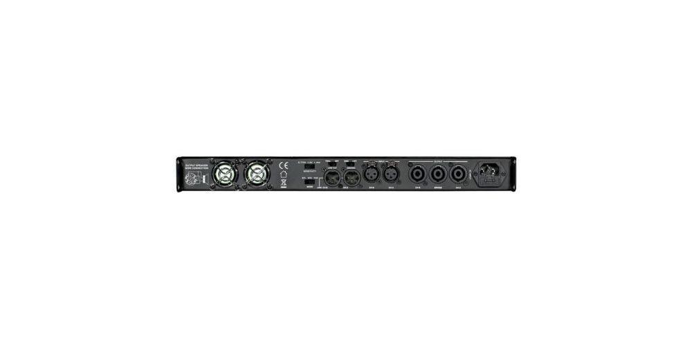amp 4002 etapa potencia fconmutada 2x400 jb systems rear