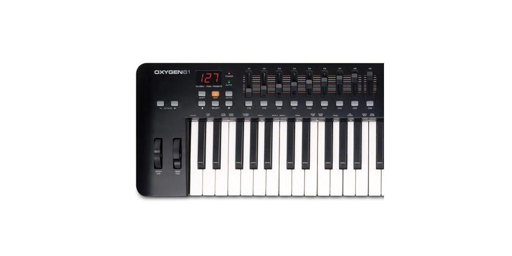 M AUDIO OXYGEN 61 MK IV TECLADO MIDI 1